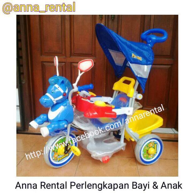 Sepeda Family Kuda Biru