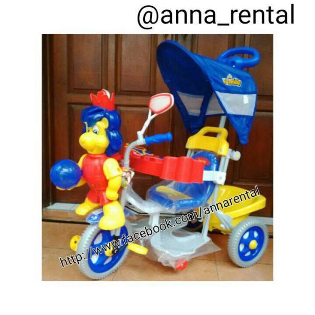 Sepeda Family Singa Biru